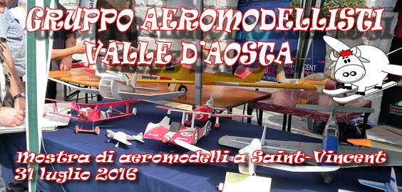 Mostra aeromodellismo 2016 a Saint-Vincent