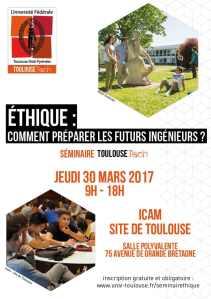 Ethique : comment préparer les futurs ingénieurs ? @ Institut catholique d'arts et métiers de Toulouse | Toulouse | Occitanie | France