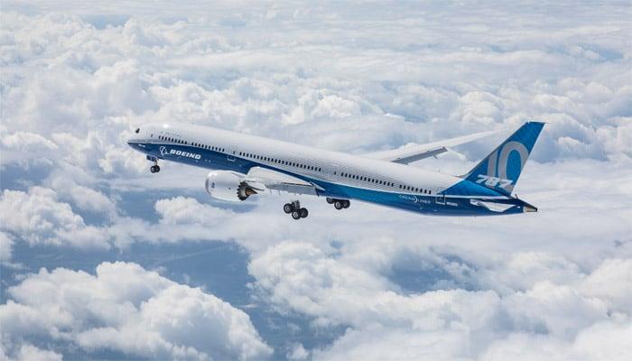 Le Boeing 787-10 Dreamliner effectue son premier vol