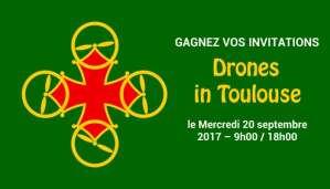 Drones in Toulouse le Mercredi 20 septembre 2017 @ Base aérienne de Toulouse – Francazal | Cugnaux | Occitanie | France