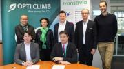 Transavia signe contrat safety-line