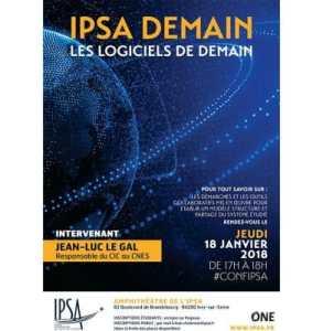 IPSA Demain invite le CNES pour une conférence dédiée à la modélisation 3D @ IPSA Paris | Ivry-sur-Seine | Île-de-France | France