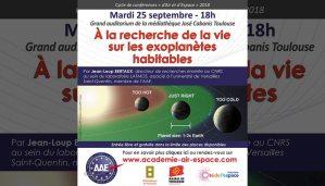 """À la recherche de la vie sur les exoplanètes habitables"""" par Jean-Loup Bertaux"""