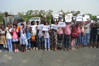 bapteme enfants saint louis Senegal
