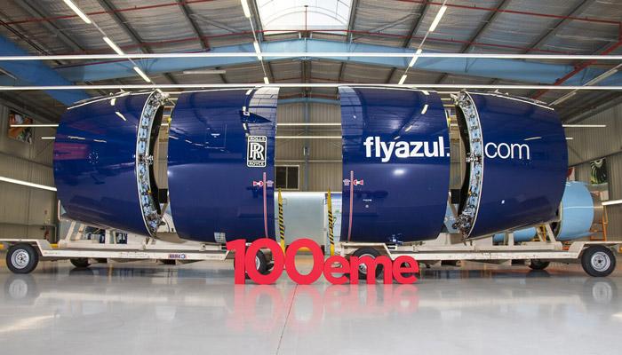 Safran livre la 100e nacelle du long-courrier extra large A330neo
