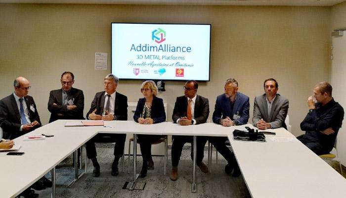 Création d'AddimAlliance, rapprochement de 6 plateformes régionales dans le secteur de la Fabrication Additive