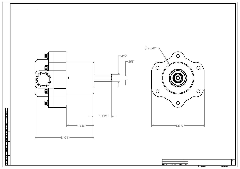 Billet Belt Drive Fuel Pump Aeromotive Inc
