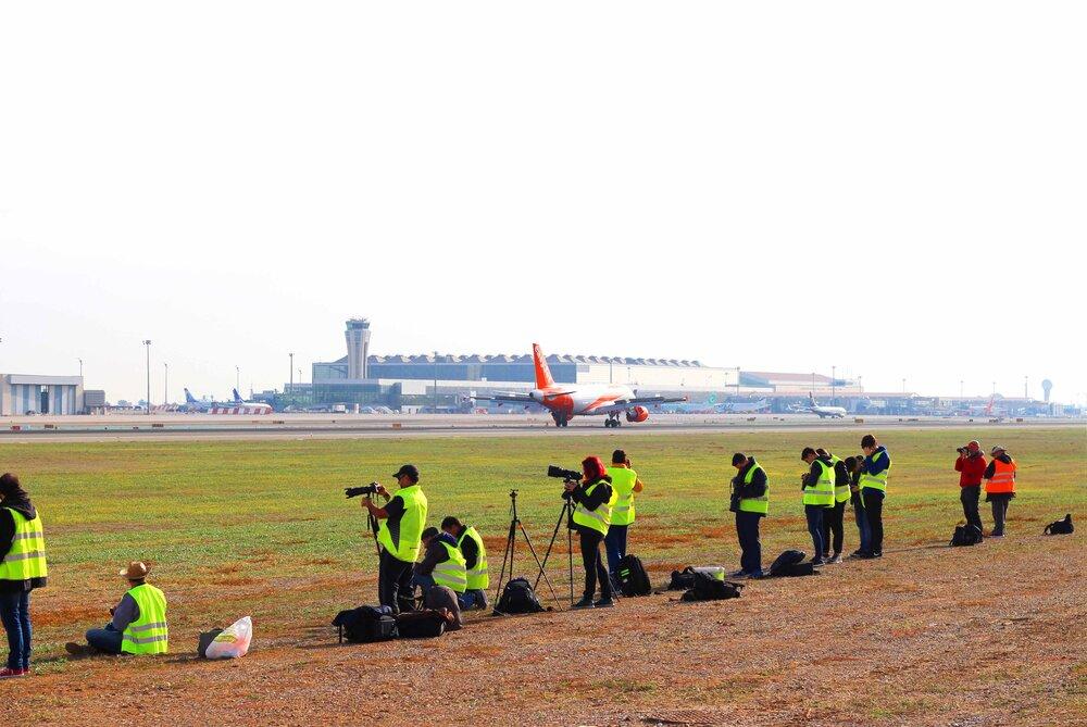 Evento Málaga Plane Spotter Day