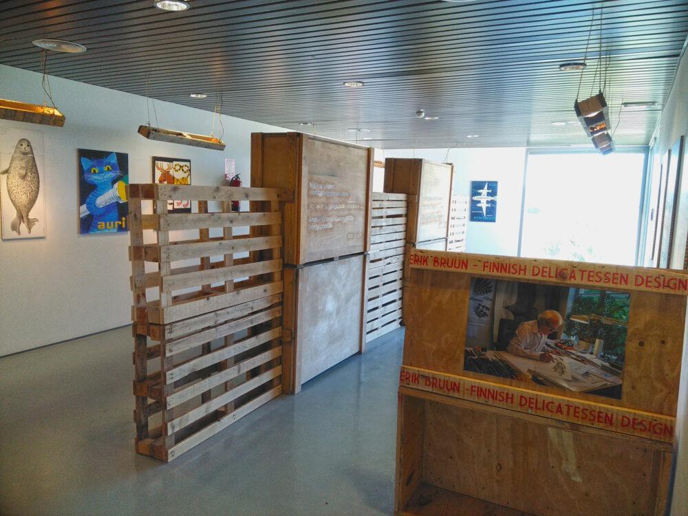 Exposición ilustrador finlandés Erik Bruun