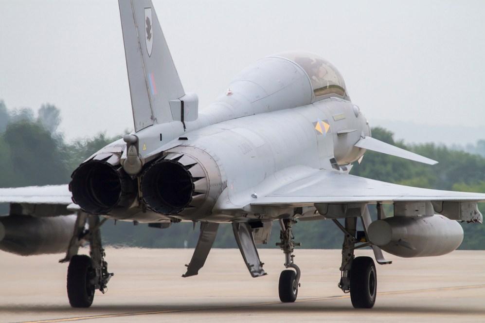 © Adam Duffield • RIAT Media Preview - RAF Fairford, UK • RAF Eurofighter Typhoon