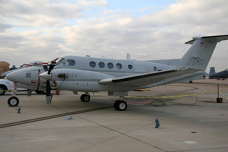 © Mark Forest - Beech UC-12F Huron • MCAS Miramar Airshow 2007