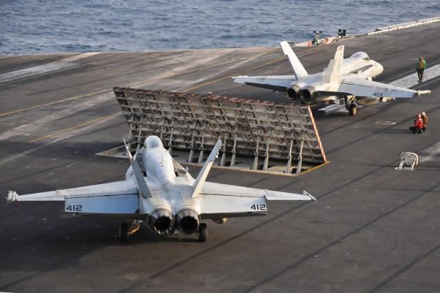 © Duncan Monk - Boeing F/A-18C Hornet • United States Navy • USS Ronald Reagan CVW-14
