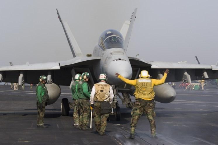 © Anthony Osborne - Boeing F/A-18C Hornet • United States Navy • USS Enterprise