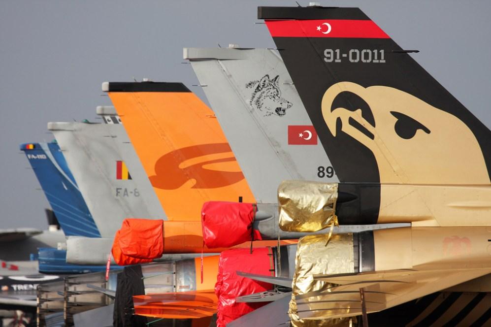 © Ben Montgomery - TUSAS F-16CG Night Falcon • Turkish Air Force • Royal International Air Tattoo 2011
