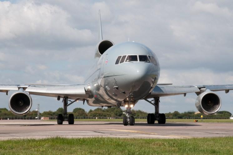 © Michael Buckle • Royal Air Force L-1011 Tristar (ZE705) • RAF Brize Norton, Oxfordshire