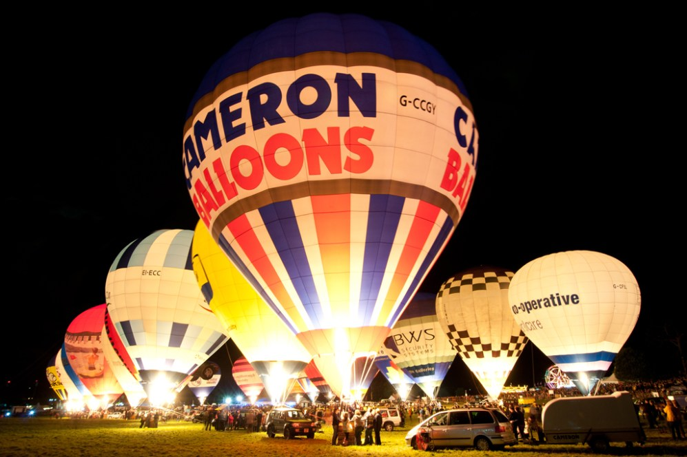 © Michael Buckle - Bristol International Balloon Fiesta • Ashton Court - Bristol, UK