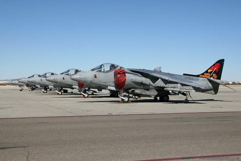 © Mark Forest - United States Marine Corps • AV-8B Harrier • Marine Corps Air Station Yuma, Arizona