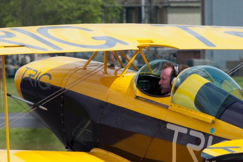 © Duncan Monk - Pitts S-1D Special • Trig Team • Abingdon