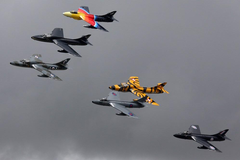© Ben Montgomery - Hawker Hunter • Team Viper • Royal International Air Tattoo 2011
