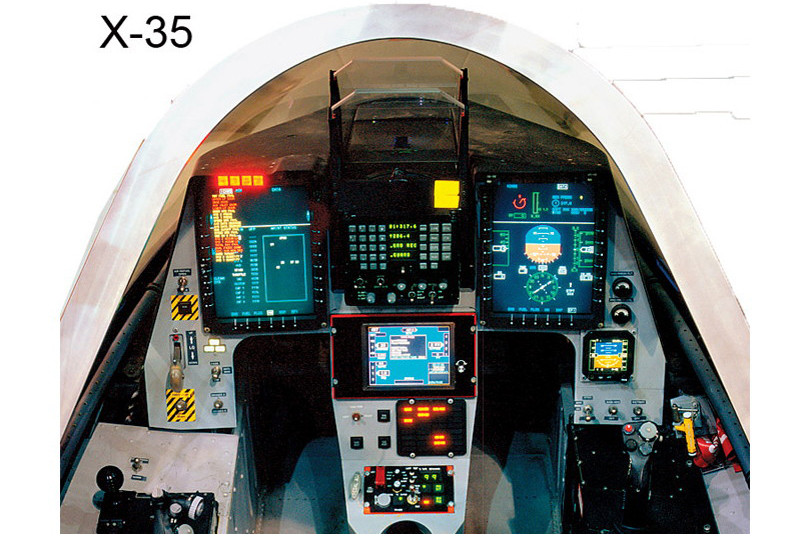 © Lockheed Martin - Released • Lockheed Martin X-35 Cockpit