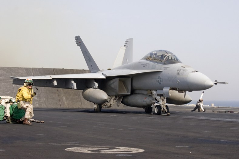 © Anthony Osborne -Boeing F/A-18F Super Hornet • United States Navy • USS Enterprise