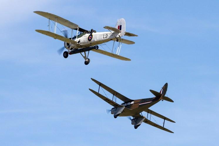 © Adam Duffield • Duxford Air Show 2012 • Duxford Airfield, UK • DH-89A and Swordfish