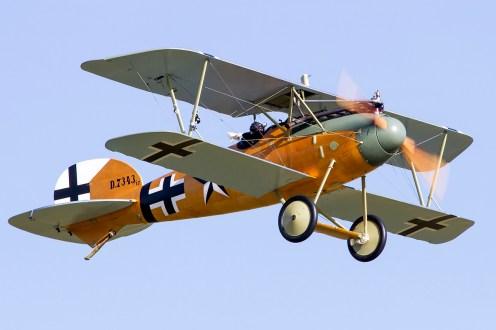 © Adam Duffield • Duxford Air Show 2012 • Duxford Airfield, UK • Albatros D.Va - G-CDXR