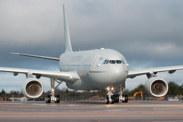 © Michael Buckle • First RAF A330 Delivery - RAF Brize norton, UK