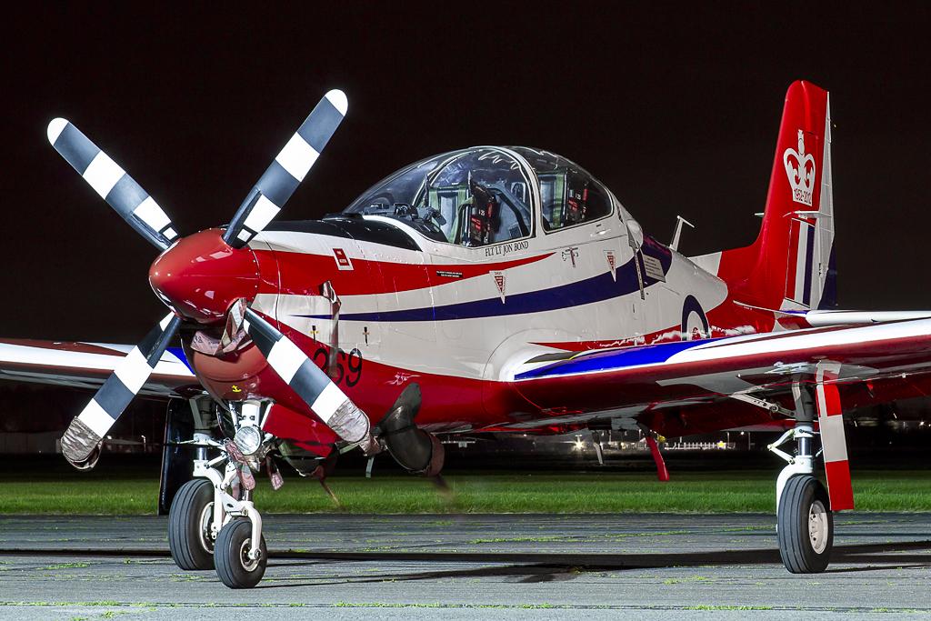 © Adam Duffield - Shorts Tucano T.1 • Royal Air Force • Abingdon