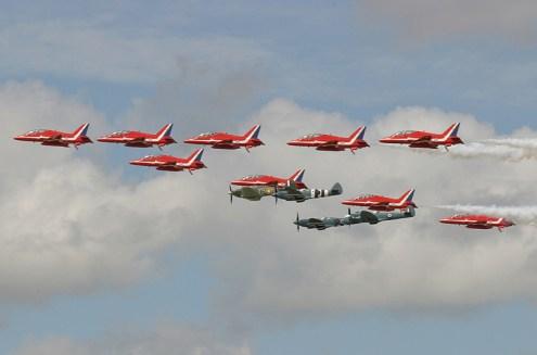 © Michael Freer - The Red Arrows • Royal Air Force • Royal International Air Tattoo 2007