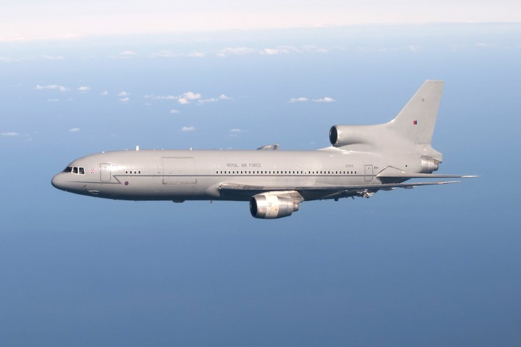 © AeroResource • Royal Air Force L-1011 Tristar (ZD950) • Air to Air Refuelling Area 8