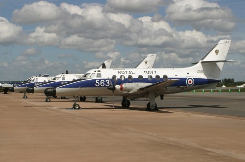 © Michael Freer - BAe Jetstream T.2 • Royal Navy • Royal International Air Tattoo 2007BAe Jetstream T.2