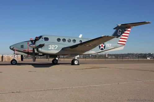 © Jason Grant - United States Navy • Beechcraft TC-12B • NAS North Island