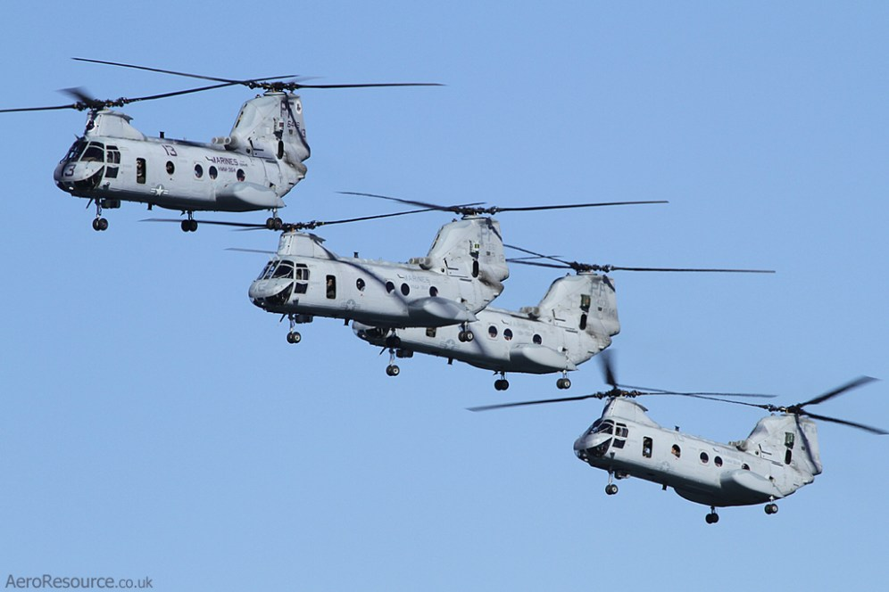 © Jason Grant - United States Marine Corps • Boeing CH-47 Chinook • NAS North Island