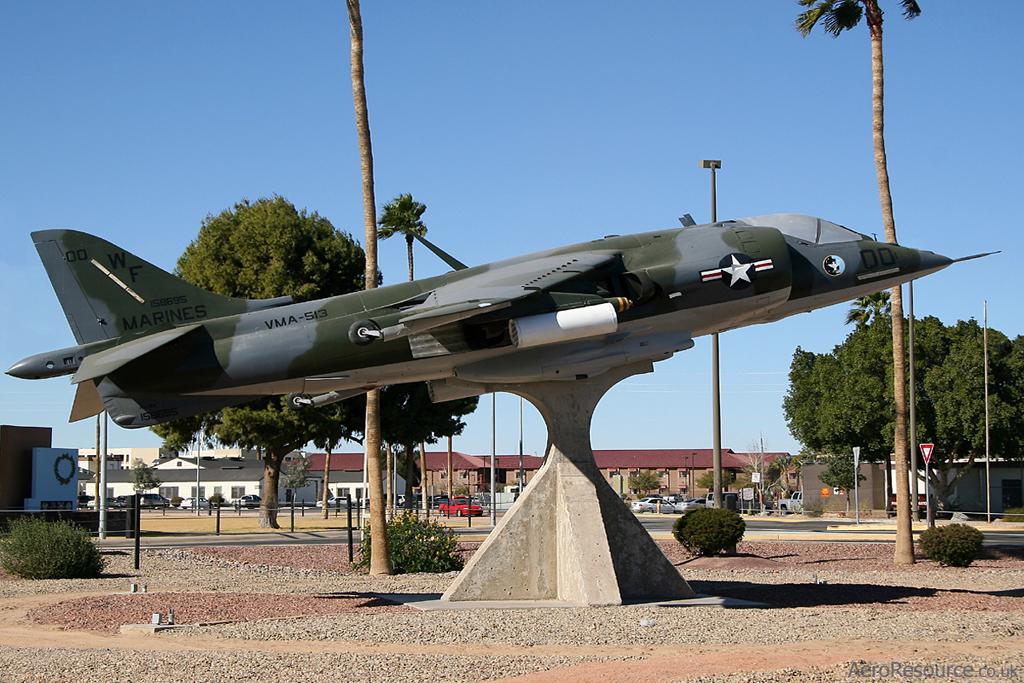 © Stu Skelton - United States Marine Corps • AV-8A Harrier • Marine Corps Air Station Yuma, Arizona