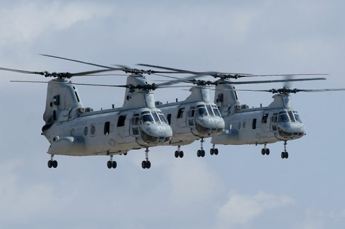 © Mark Forest - Sikorsky CH-46E Sea Knight • United States Marine Corps • MCAS Miramar Airshow 2007
