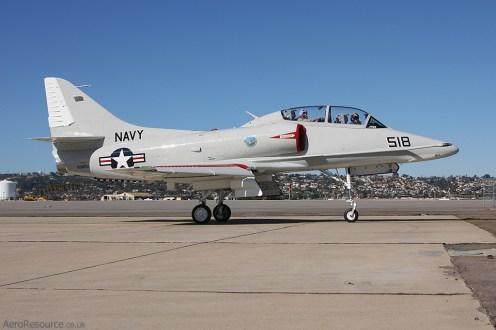 © Jason Grant - United States Navy • Douglas TA-4 Skyhawk • NAS North Island