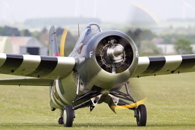 © Ben Montgomery • Grumman F4F Wildcat • Duxford VE Day 70th Anniversary Airshow