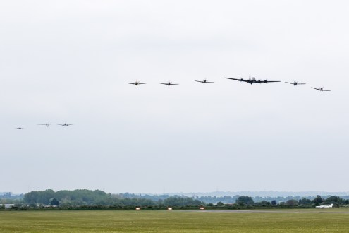 © Adam Duffield • VE Day Formation Flypast • Duxford VE Day 70th Anniversary Airshow