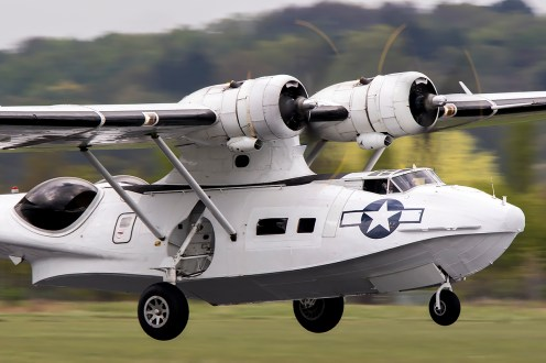 © Adam Duffield • PBY Catalina G-PBYA • Abingdon Air & Country Show 2015