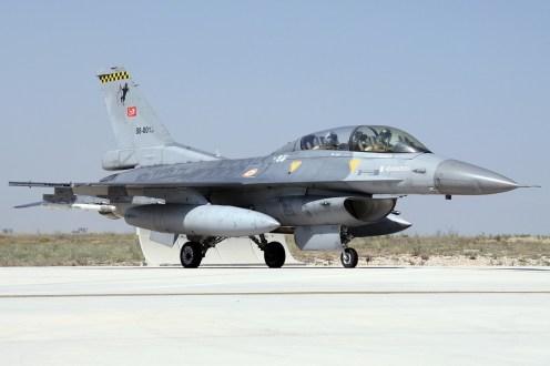 © Mark Kwiatkowski • TuAF F-16D 88-0013 • Anatolian Eagle 2014