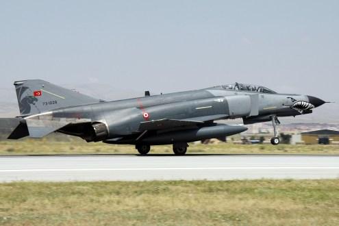 © Mark Kwiatkowski • TuAF F-4E 73-1029 • Anatolian Eagle 2014