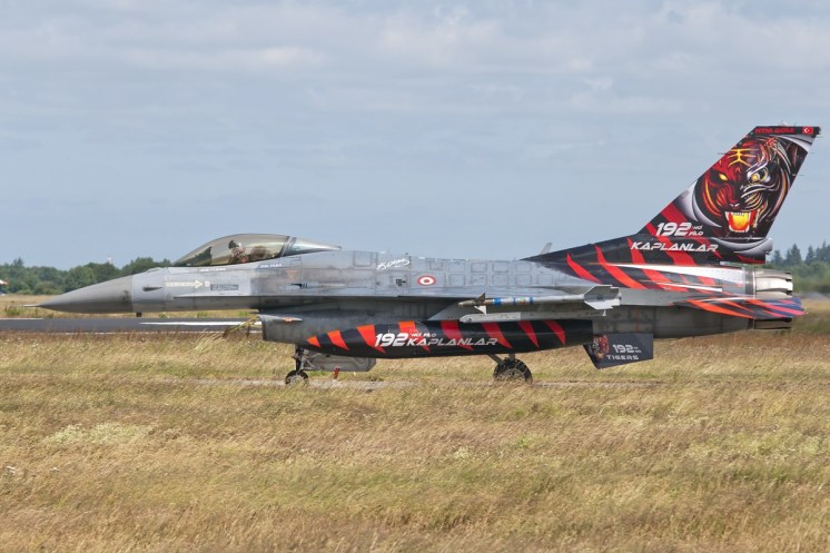 © Duncan Monk • Turkish Air Force F-16C Special • NATO Tiger Meet 2014