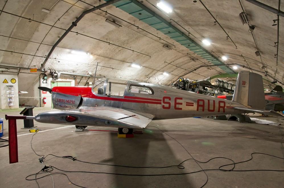 © Duncan Monk • Aeroseum - Göteborg, Sweden • SAAB 91A Safir