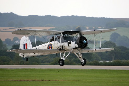 © Mark Graham - Royal Navy Historic Flight • Fairey Swordfish II • RAF Yeovilton, UK