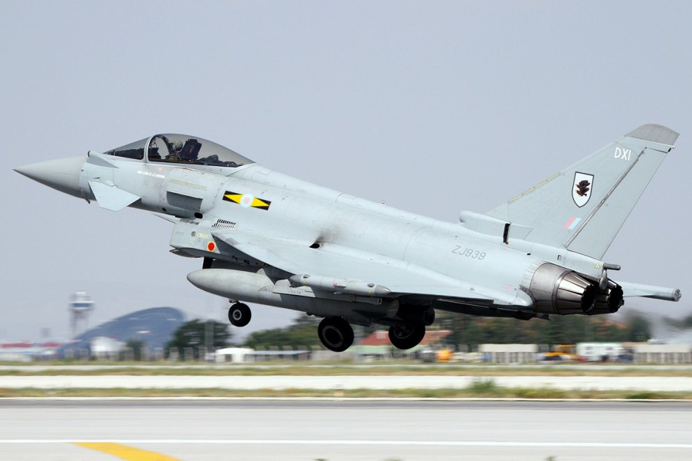 © Mark Kwiatkowski • RAF Typhoon FGR4 ZJ939 • Anatolian Eagle 2014