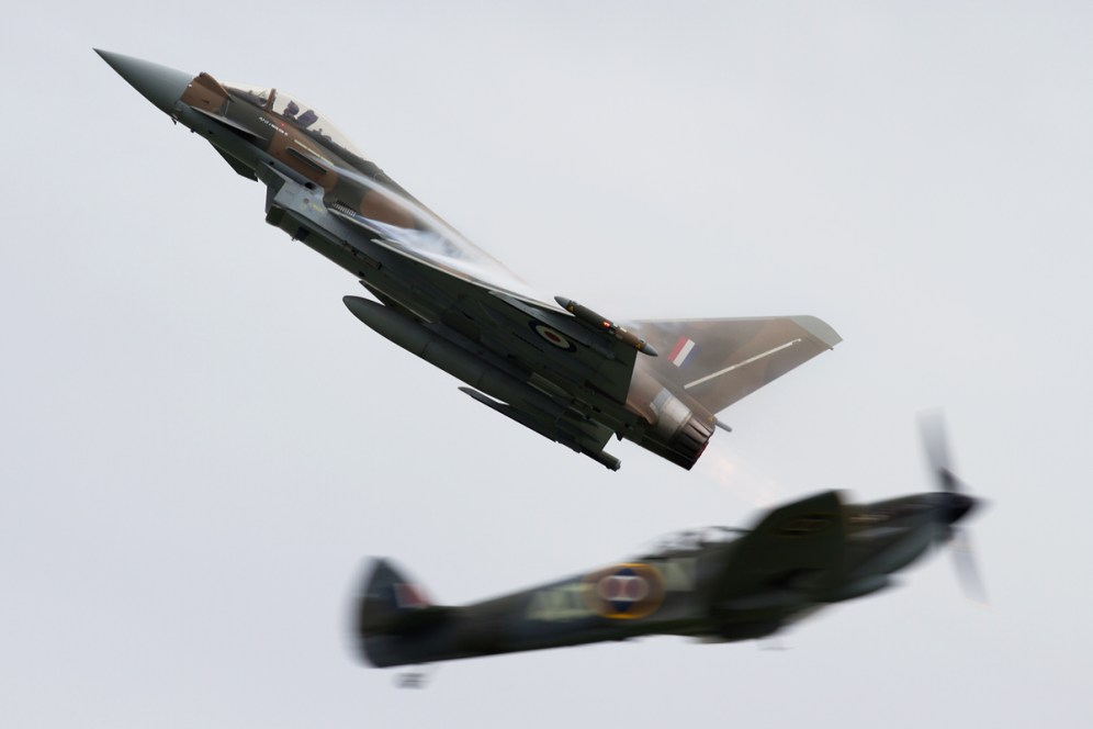 © Michael Lovering • Battle of Britain 75th Synchro Pair • Abingdon Air & Country Show 2015