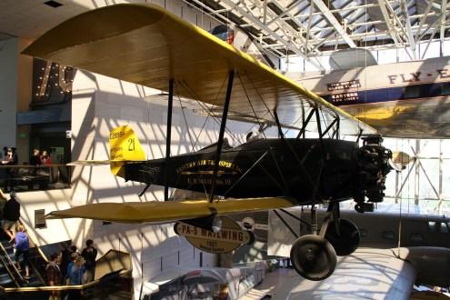 © Michael Lovering • Pitcairn PA-5 Mailwing • Smithsonian Air & Space - Washington DC