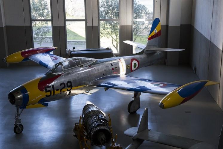 © Adam Duffield • Republic F-84G Thunderjet MM111049 • Italian Air Force Museum