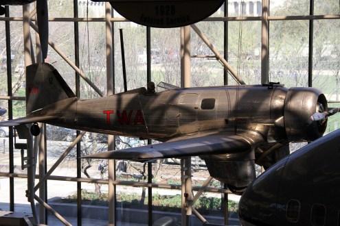 © Michael Lovering • Northrop Alpha • Smithsonian Air & Space - Washington DC